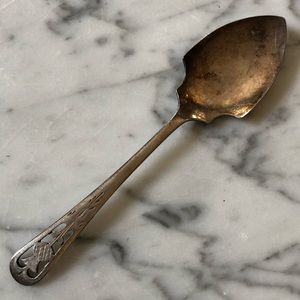 Vintage FC&CO. Silver Plate Thistle Tea Spoon